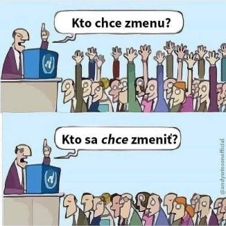 """""""Zmena je ŽIVOT"""" – v RADOSŤ… :)"""